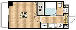 グラシアス武蔵新城[202号室]の間取り