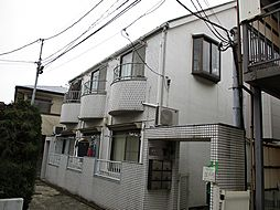東京都世田谷区太子堂2丁目の賃貸アパートの外観