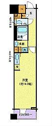 LA.PRYLE新横浜[311号室]の間取り