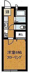 グリーンハイツ4[1階]の間取り