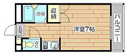メゾンヴェールII[3階]の間取り