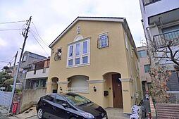 東京都葛飾区金町2丁目の賃貸アパートの外観