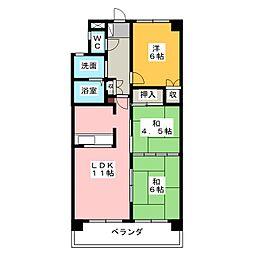クレストAi−2[1階]の間取り