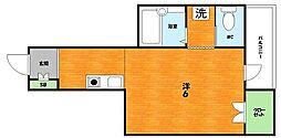 大阪府枚方市宮之阪2丁目の賃貸マンションの間取り