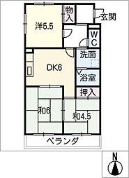 USビル[1階]の間取り