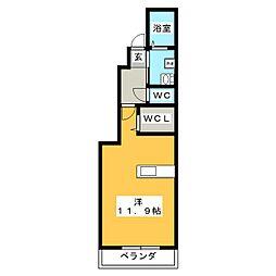AdvanceII II棟[1階]の間取り