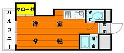 プレアール唐原2[2階]の間取り