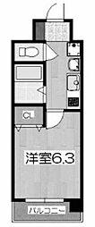 プレサンス京都四条堀川[1102号室号室]の間取り