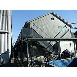 愛知県安城市百石町1丁目の賃貸アパートの外観