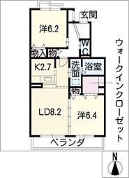 イノアック栗の木[3階]の間取り