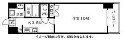 ウイング舟入川口町[1005号室]の間取り