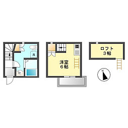 下小田井駅 4.7万円