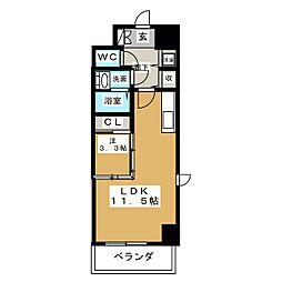 アプロディーテ[12階]の間取り