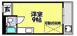 ハイムニシキ[3階]の間取り