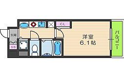 プレサンス梅田北デイズ[4階]の間取り