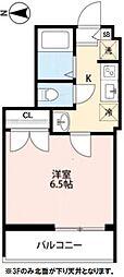 東京メトロ有楽町線 地下鉄赤塚駅 徒歩3分の賃貸アパート 1階1Kの間取り