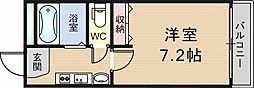 リバーライズ布施1[7階]の間取り