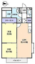 サンライトホーム[2階]の間取り