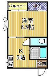 シリングコート[2階]の間取り