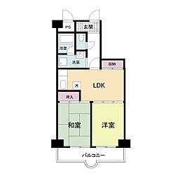 都島北通りマンション[0405号室]の間取り