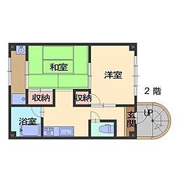 ASAHIハウス[2号室]の間取り