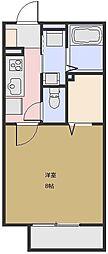 カーサ デ ルス[103号室号室]の間取り