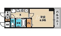 ホープシティ天神橋[14階]の間取り