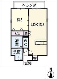 仮)四軒家マンション[4階]の間取り