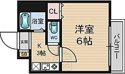 メゾン・ラポール[3階]の間取り