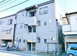 埼玉県戸田市美女木2丁目の賃貸アパートの外観