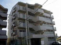 福岡県北九州市若松区西小石町の賃貸マンションの外観