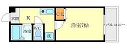 粋和ビル[4階]の間取り