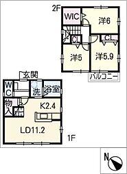 [一戸建] 三重県津市美川町 の賃貸【/】の間取り