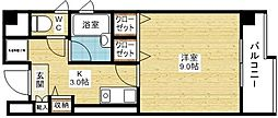 シャルマン新大阪[8階]の間取り