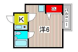 ベルトピア南浦和III[4階]の間取り
