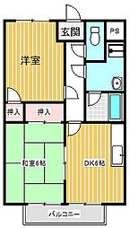 サン・ファーム(三本柳)[101号室号室]の間取り
