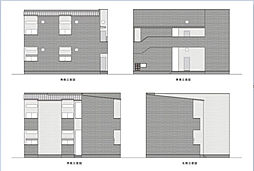 兵庫県神戸市長田区御蔵通2丁目の賃貸アパートの外観