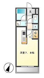 アデグランツ大須[13階]の間取り