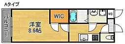 セレーナ住之江II番館[2階]の間取り