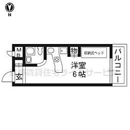 ラ・パルフェ・ド・プレオ310[3階]の間取り