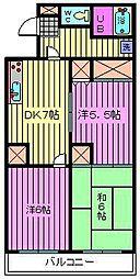 第8池田マンション[402号室]の間取り