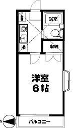 かしわ台ドミール21[105号室]の間取り