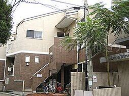 福岡県福岡市中央区谷2丁目の賃貸アパートの外観