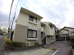 兵庫県伊丹市緑ケ丘2丁目の賃貸アパートの外観