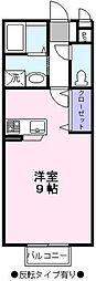 コンフォールM[2階]の間取り