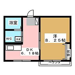 シュレッサーII[2階]の間取り