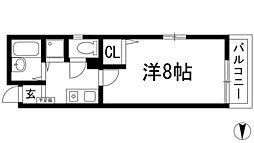 兵庫県川西市小花2の賃貸マンションの間取り