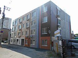 北海道札幌市北区北四十条西6丁目の賃貸マンションの外観