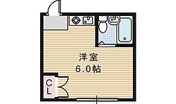 シェトワ阪南[102号室]の間取り