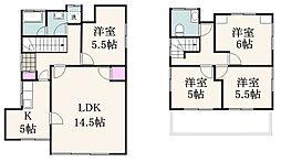 [一戸建] 東京都杉並区荻窪5丁目 の賃貸【/】の間取り